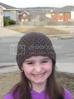 Brownie hat smile