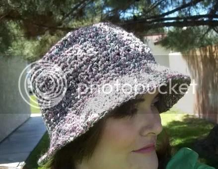 Knitted Bucket Hat Pattern : Crossed Bucket Hat Craftination