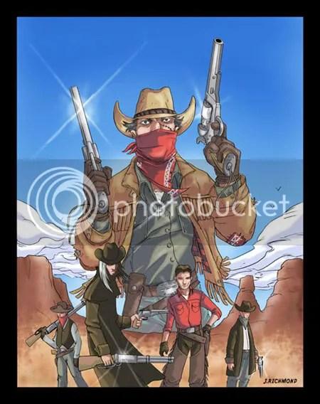 6 Gun assassins Cover