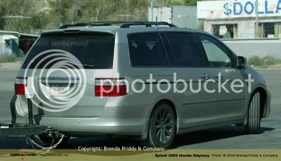 2005 Odyssey Spy Shot Honda Accord Forum V6