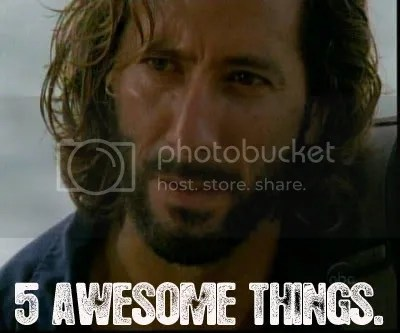 5 Awesome Things.....