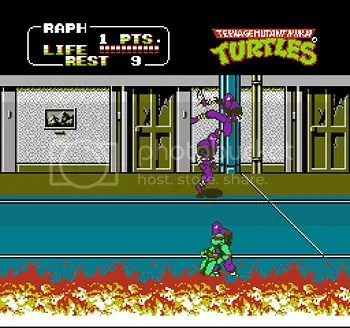 TMNT2: The Arcade Game.