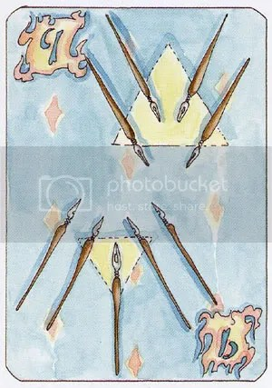 9 of Wands
