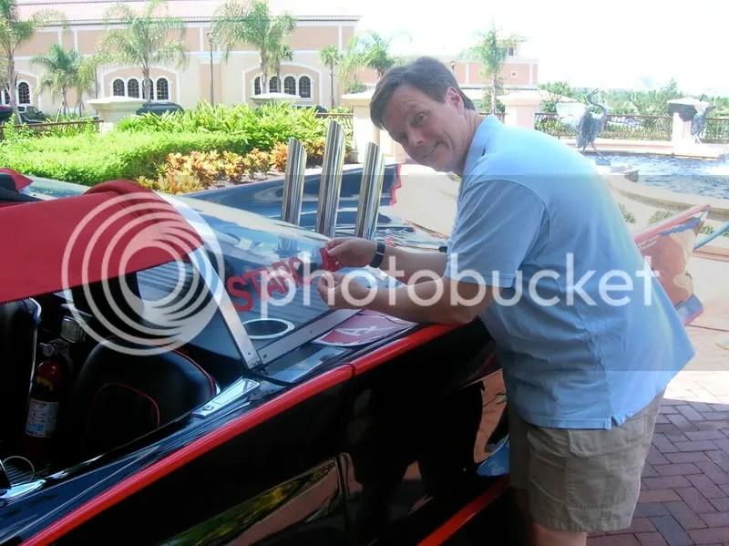 batmobile with star car central sticker