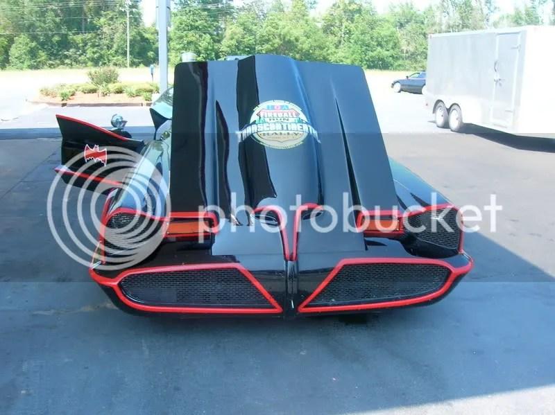 Batmobile Hood Stickers