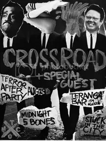 terror after party show poster