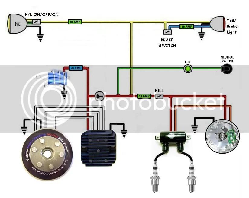 xs650 simplified wiring great design of wiring diagram u2022 rh homewerk co