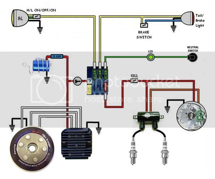 Xs650 Simplified Wiring Harness - Wiring Diagram List on