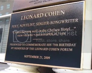 Leonard Cohen! I know right?