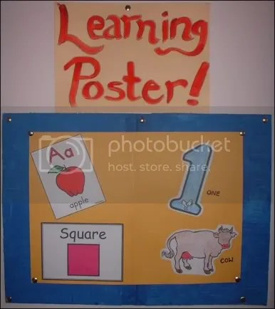 Learning Poster