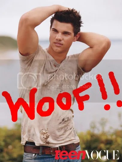 Taylor Lautner photo shoot with Teen Vogue