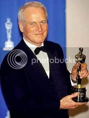Paul Newman recebeu o Óscar Honorário em 1986