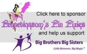 Click here to sponsor Peaseblossom's Pin Pixies, and help us support Big Brothers Big Sisters!