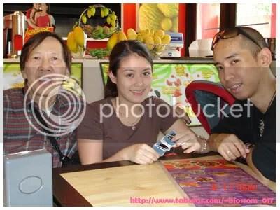 Tito Raff with Portia and Brian