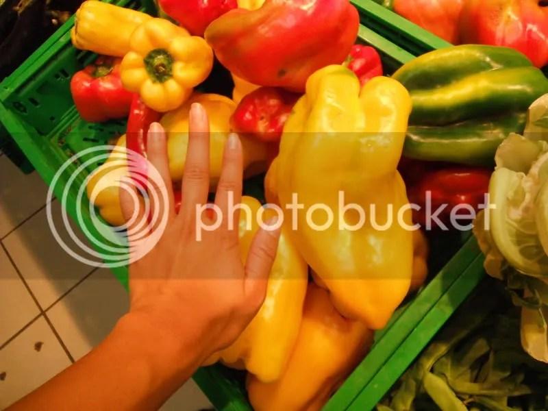 An enormous pepper.