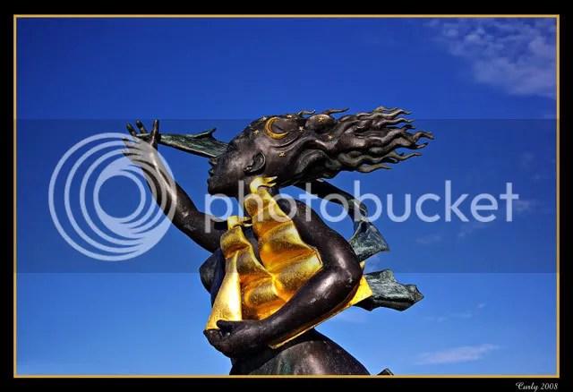 statue, spirit of south shields