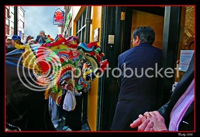 Chinese dragon, Newcastle