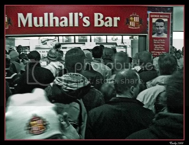 Mulhall's Bar, Sunderland Stadium of Light