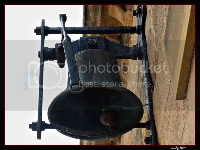 picture, bell on old town hall, South Shields
