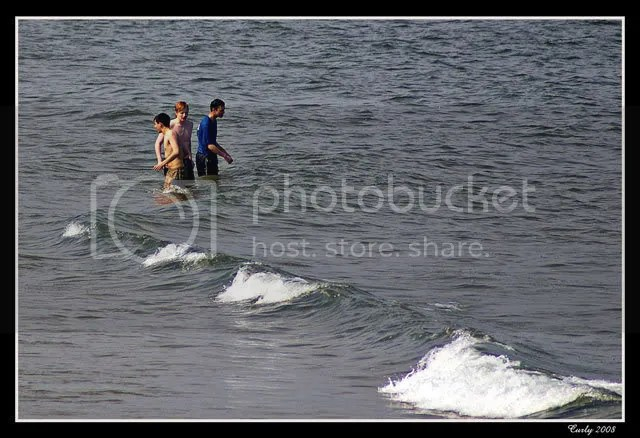 Swimming at South Shields
