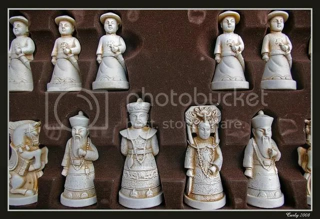 Chess pieces, South Shields Market