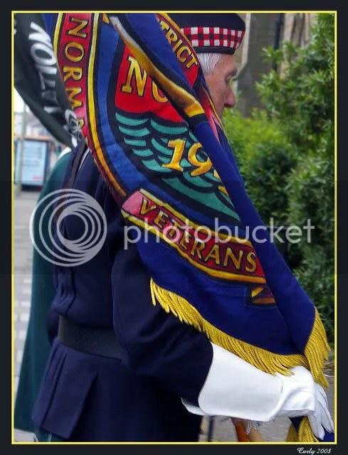 Normandy veteran, South Shields
