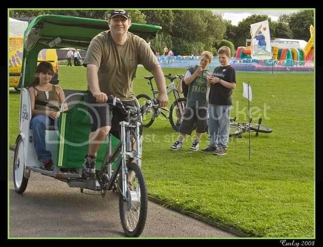 Rickshaw, Bents Park, South Shields