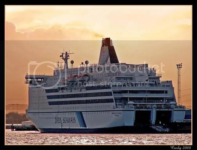 DFDS ferry, north Shields