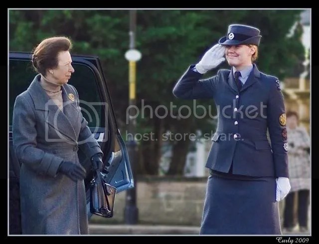 Princess Anne in South Shields