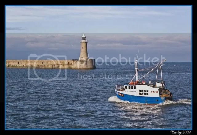 South Shields harbour