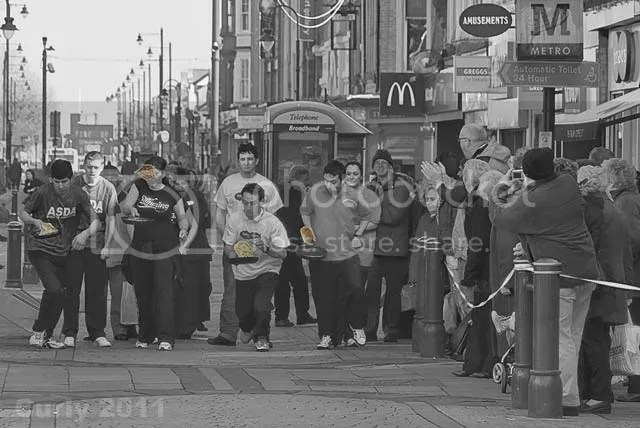 Pancake Race, South Shields