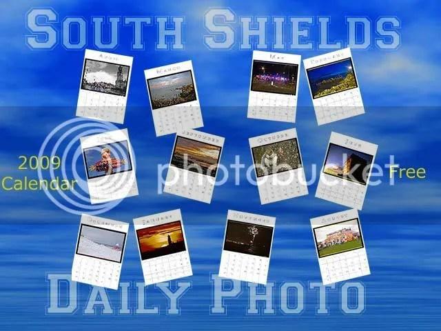 South Shields Daily Photo Calendar 2009