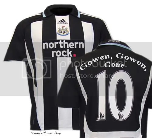 Michael Owen's shirt