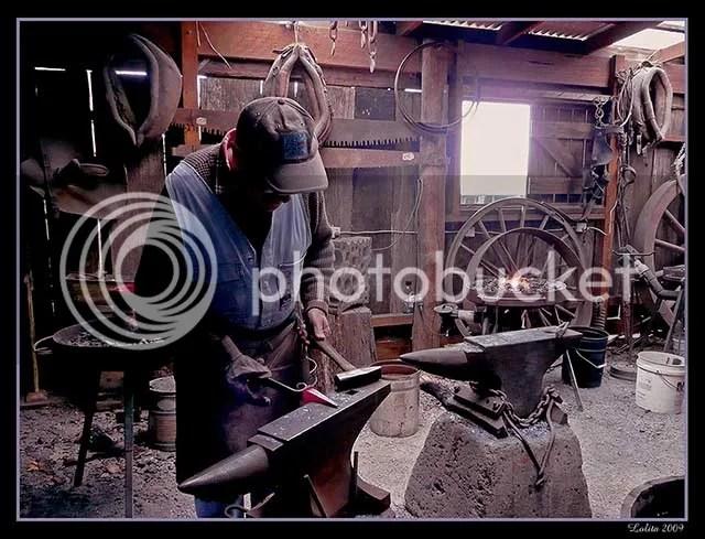 Blacksmith, Wandin, Australia