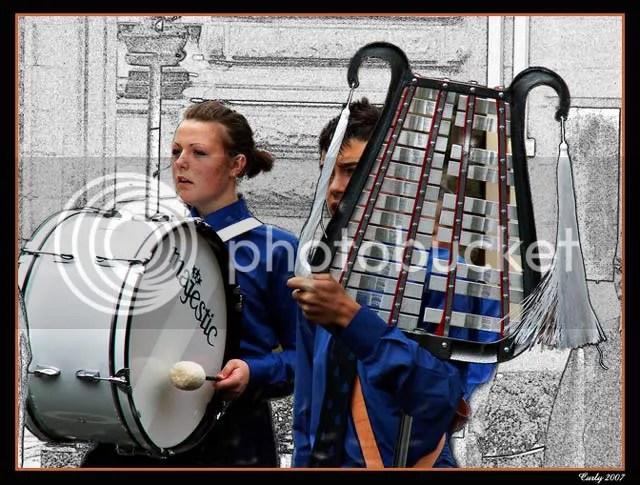 Boy's Brigade band, South Shields