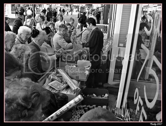 Shoppers, King Street, South Shields
