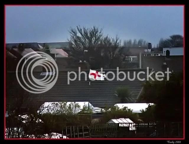 England flag, South Shields