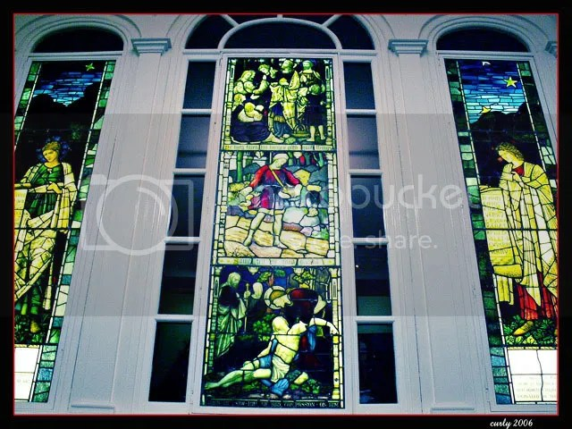 stained glass window, South Shields museum