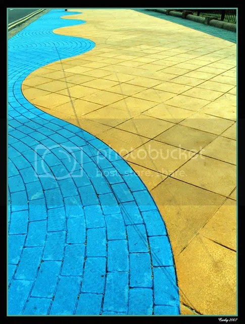 paving, Sea Road, South Shields