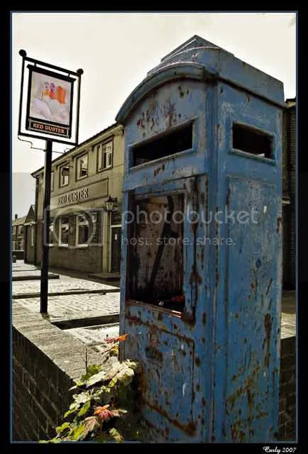 Old police box, Whiteleas Way, South Shields