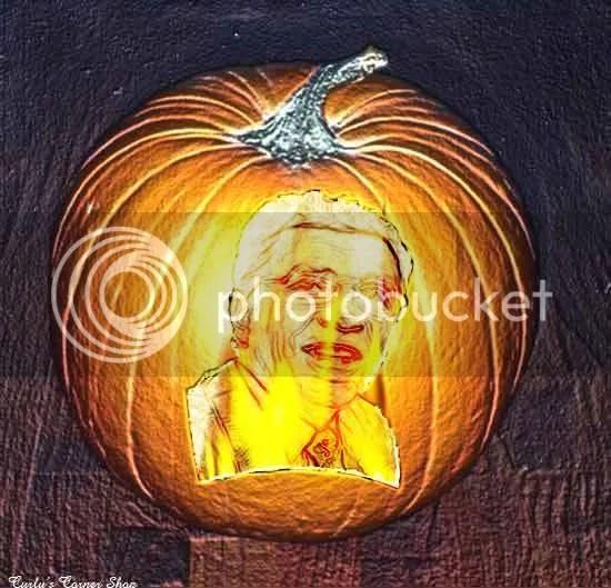 Cllr. George Elsom Pumpkin
