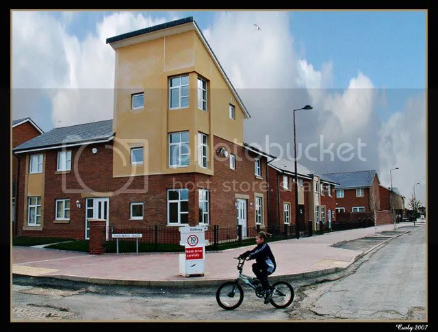 Social housing, Cleadon Vale, South Shields