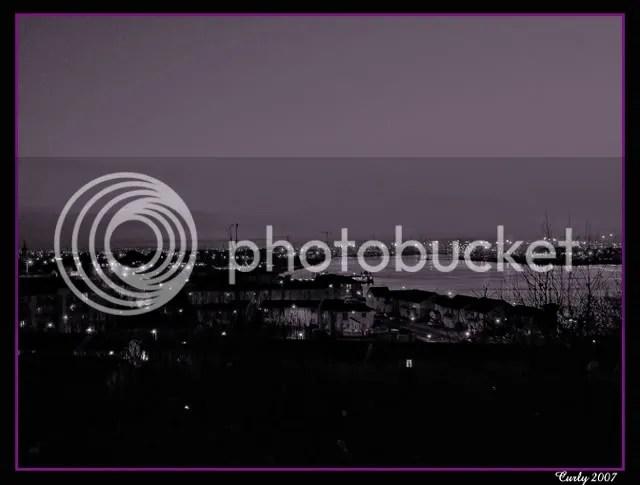 Sunset, River Tyne
