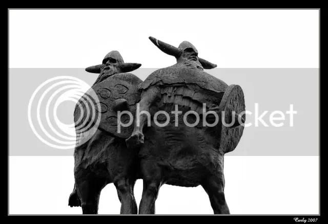 Viking statue, Viking Centre, Jarrow