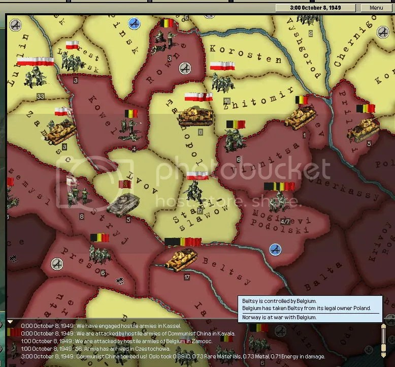 Balkans October 8th