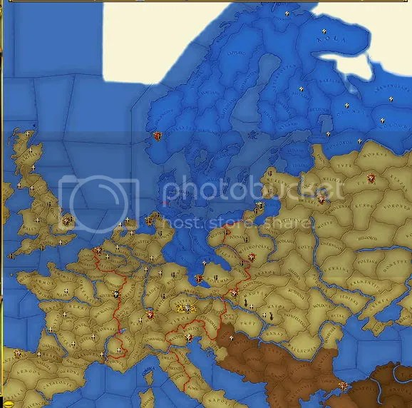 Europe religion 1545