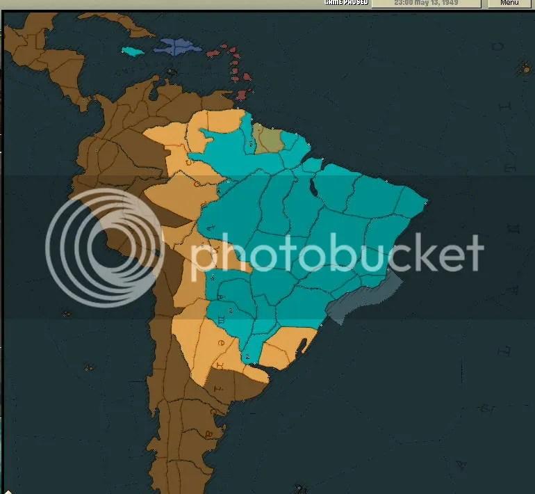 South America 1949
