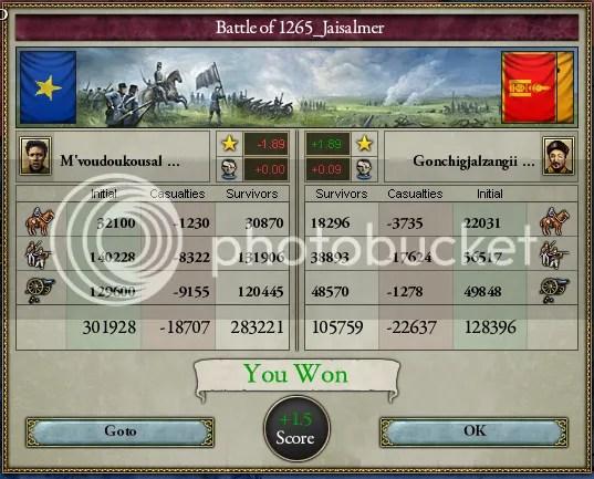 Victory at Jaisalmer