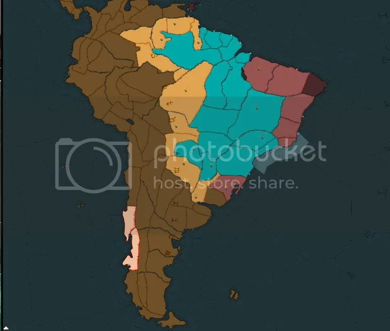 South America 1936