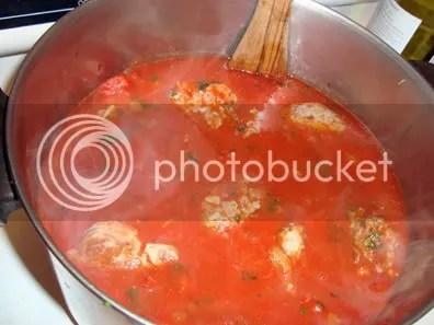 starting the long simmer